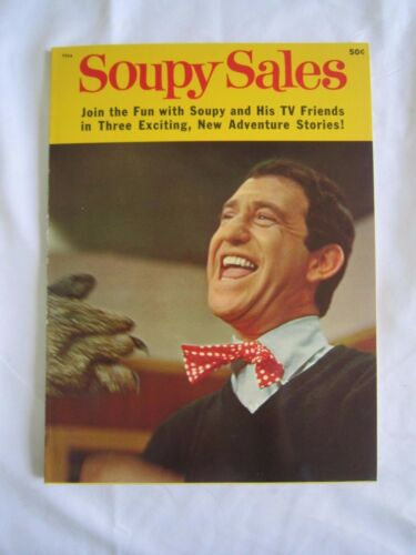 1965 'SOUPY SALES' Promotional TV Show STORYBOOK by Wonder books *