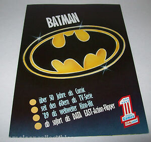 BATMAN-BALLY-WULFF-ORIGINAL-NOS-GERMAN-FOLDOUT-PINBALL-MACHINE-FLYER-BROCHURE