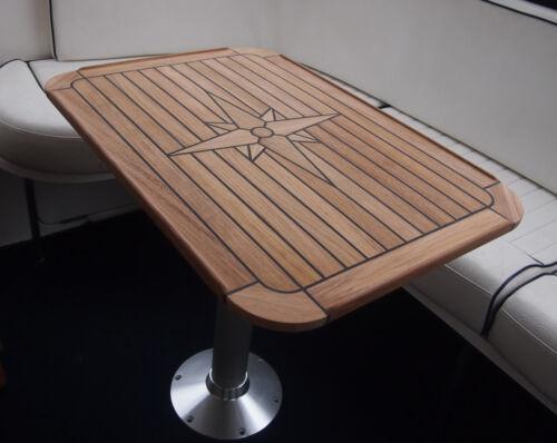 "Teck Table Star /""Flexible/"" Six Tailles Marine Motorhome//Caravane//Bateau NOUVEAU"