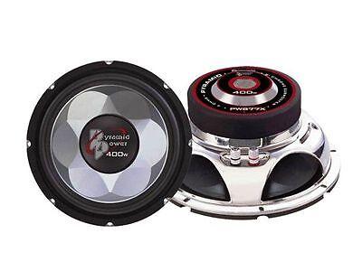 Single Pyramid PW677X 6/'/' 300 Watts Sub Woofer Car Audio Subwoofer