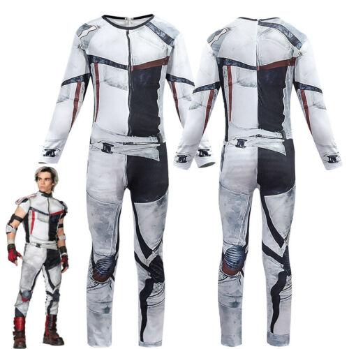 Descendants 3 Carlos Cosplay Costumes Jumpsuit Outfits Dress Halloween Kids/&Men