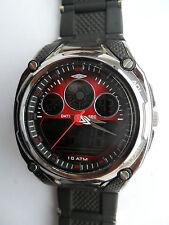 Reloj de Pulsera Umbro Dragón Reloj Hora Dual Digital Cronógrafo Alarma Luz Deportes