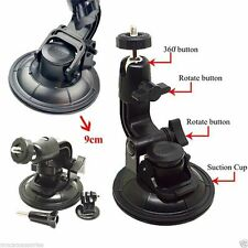 9CM Diameter Suction Cup Car Mount Tripod Mount for Gopro Hero 4 3+ 3 2 1