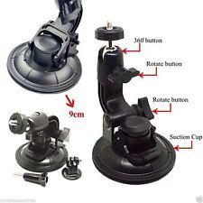 9CM Diameter Suction Cup Car Mount Tripod Mount for Gopro Hero 4 3+ 3 2 1