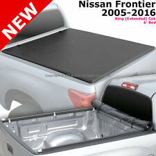 For Nissan Frontier 05-16 King Cab 6 ft Short Bed Roll-Up Soft Tonneau Cover