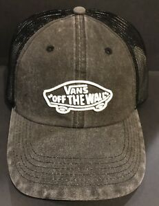 7175eab3665 VANS ACER TRUCKER CAP-BLACK OS NWT 100% AUTHENTIC FREE SHIPPING ...