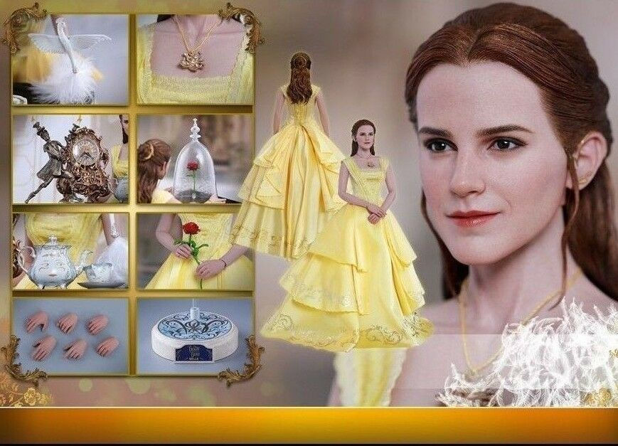 Hot Toys 1 6 Beauty and the Beast Belle Emma Watson MMS422