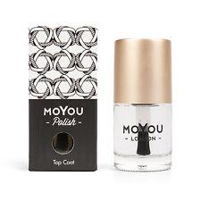MoYou London Smudge Resistant Top Coat  Nail Polish Nail Lacquer