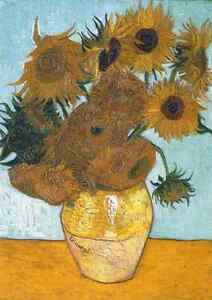 Vincent Van Gogh The Sunflowers Puzzle 1000 pcs Jigsaw puzzles TOMAX Toys Gift