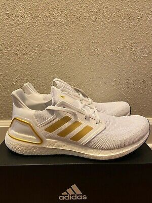 Adidas Ultra Boost 20 White Gold