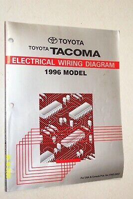 1996 TOYOTA TACOMA Electrical Wiring Diagrams Manual | eBayeBay