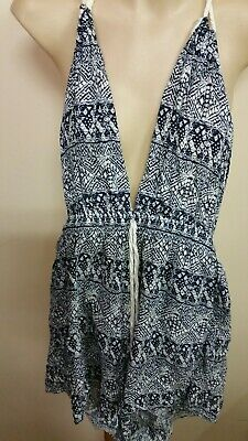 Genteel Womens Playsuit Sz10 Minkpink Summer Look Clothing, Shoes, Accessories