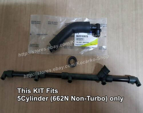 OEM 662N Breather Pipe /& Ring /& Blow By Hose Ssangyong Istana New Korand Musso