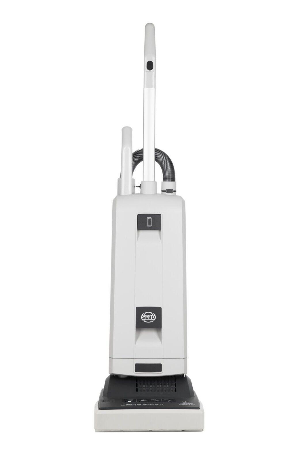 Sebo XP10 Commercial aspirateur. 31 cm Nettoyage voie. auto réglage en hauteur