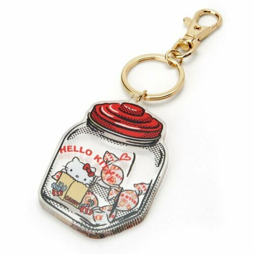 Keychain Key Holder Candy HELLO KITTY ACTION Re:Touch Sanrio Japan