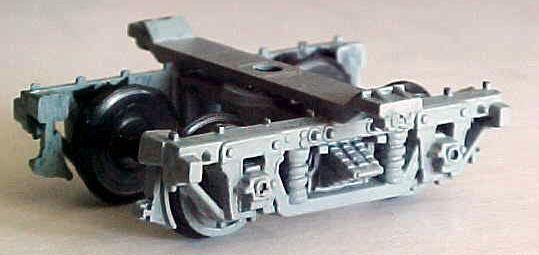 HOn3 Paquete de 6 kits de coche pasajeros de trocha angosta D&RGW camiones 5'0 WB, mrgs   5002A,