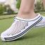 thumbnail 6 - Mens Womens Slip On Slippers Hollow Beach Sandals Clogs Garden Flat Shoes Casual