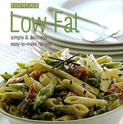 """""""AS NEW"""" , Low Fat (Essentials Cookery) Book"""