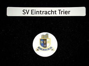 Magnetlogo-amp-Schriftzug-034-SV-Eintracht-Trier-034-fuer-Magnettabelle-Magnet-Logo-SVE