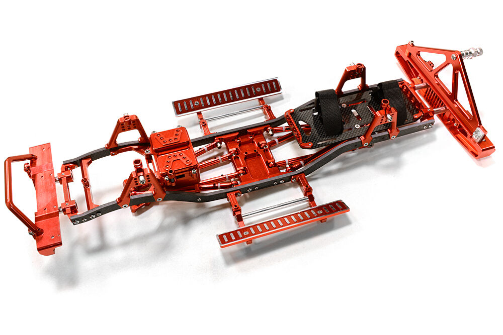 C26937rot composite - leiter frame - kit w   hop bis combo fr scx-10, jeep