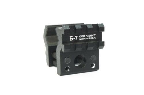 B-7 B7 mount rail adapter AUTHENTIC ZenitCo black color Б 7