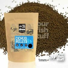 Cichlid Supreme Sinking Pellets 1.0mm Bulk Aquarium Fish Food 1/4LB to 5LBS YFS