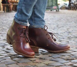 Clarks-Schuh-WILROSE-SAGE-brown-braun-Damen-Boot-Stiefelette-Ankle-Boot-NEU
