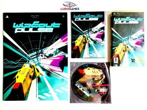 Wipeout-Pulse-Press-Kit-Pal-Eur-PLAYSTATION-Psp-Mint-State-Videojuego-Retro