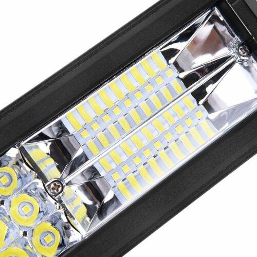 LED 648W Arbeitsscheinwerfer Scheinwerfer Offroad Flutlicht Streifen SUV ATV Neu