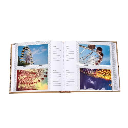 "fb200 2 X arpan Vintage europeantravel Memo Photo Album Para 200 Fotos 4 /""x 6/'"