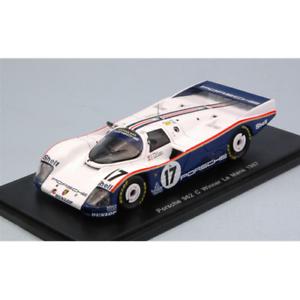 PORSCHE-962-C-N-17-WINNER-LM-1987-D-BELL-H-J-STUCK-A-HOLBERT-1-43-Spark-Model