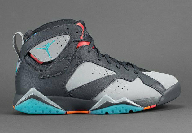 2015 Nike Air Jordan 7 VII Retro Barcelona Days Size 14. 304775-016 1 2 3 4 5