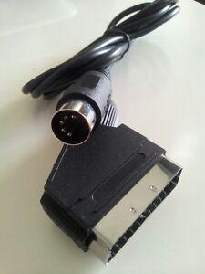 AgréAble Scart Câble Neo Geo 1 Neuf / Nouveau -3 De Nouvelles VariéTéS Sont Introduites Les Unes AprèS Les Autres