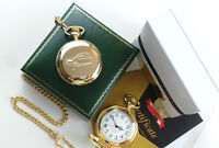 3 Wheeler Classic Car 24k Gold Clad Pocket Watch Reliant Robin Three Wheel