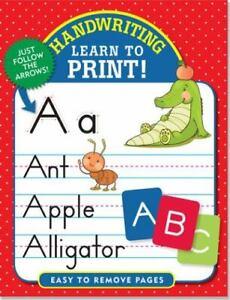 Letra: Aprenda A Imprimir! por Peter Pauper Press