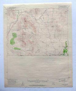 Map Of East Arizona.College Peaks Arizona Vintage Usgs Topo Map 1958 East Of Douglas