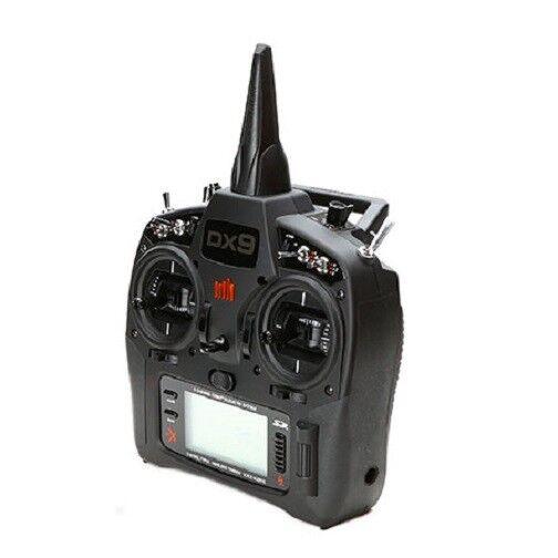 Transmisor de Spektrum DX9 Negro sólo MD2 SPMR 9910