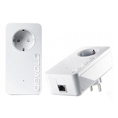 Devolo dLAN 1200+ Starter Kit 1200 Mbit/s Powerline Powerlan Steckdose LAN