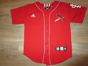 best website 1c106 44559 Details about Albert Pujols #5 St. Louis Cardinals adidas mlb Jersey Youth  SM 8 children