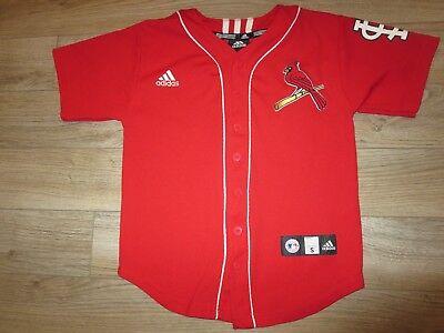 Baseball & Softball Geschickt Albert Pujols # 5 St Louis Cardinals Adidas Mlb Trikot Jugendliche Sm 8 Kinder Vertrieb Von QualitäTssicherung