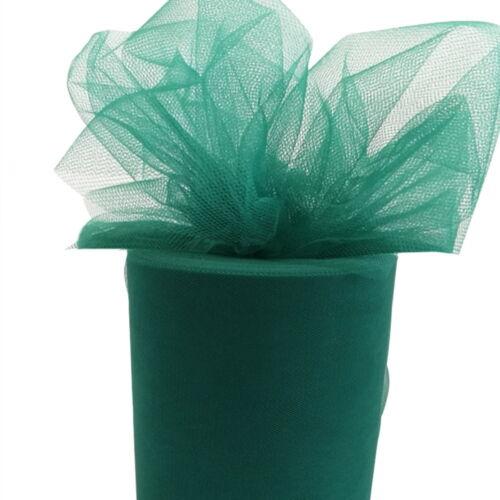 "5 Rolls Tutu Tulle Roll 6/"" wide x 100//25yds Soft Netting Fabric Nylon Wedding"