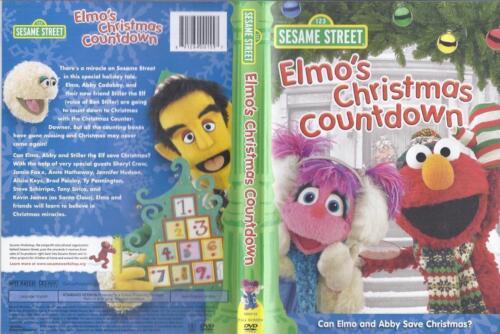 Sesame Street Elmo's Christmas Countdown DVD   eBay