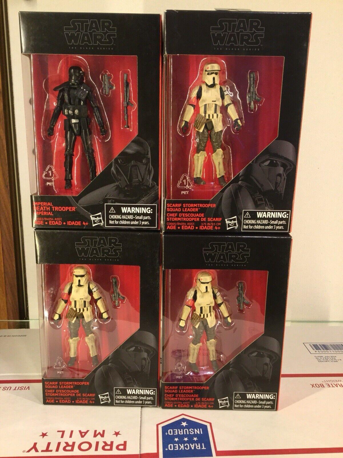 Star Wars SvoitureIF Stormtrooper 3.75 IN (environ  9.52 cm) & Imperial Death Trooper 3.75  remise