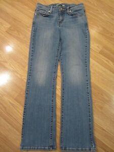 Levi-039-s-529-Womens-Jeans-Size-8-Curvy-Boot-Cut-Stretch-Denim-Pants-29-x-31