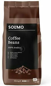 NEW Amazon Brand Coffee Beans UTZ Certified 2 Kg 2 Packs X 1Kg Flavour UK Selle