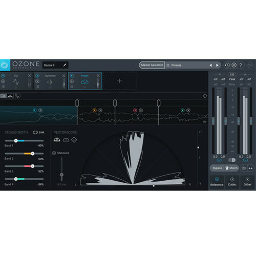 iZotope Ozone 9 Advanced Mastering System Upgrade from Ozone 5-8 Standard