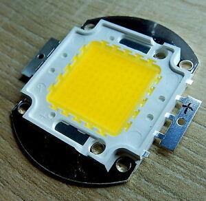 100W LED Chip warmweiss,24*40 mil,Cu 1,5 , 9000 Lm,3000K,ww,COB,Fluter,Flutlicht