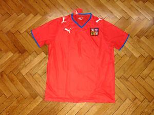 Czech Republic National Team Soccer Jersey Puma Top Football Shirt ... 3bef892c4