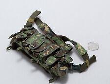 1/6 DAM Spetsnaz in Beslan Woodland M23 Chest Rig Vest
