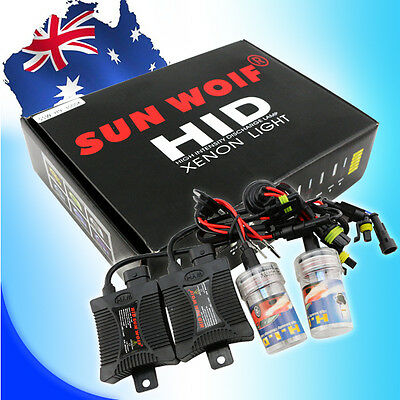 55W HID Xenon Conversion KIT Ballast bulbs H1 H3 H4-3 Hi/Lo H7 H9 H11 9004/7 H13